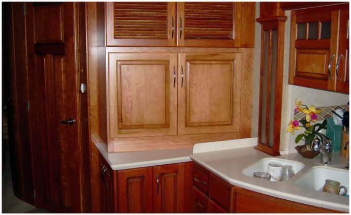 Rv Cabinets Custom For Your Space Rv Wood Design