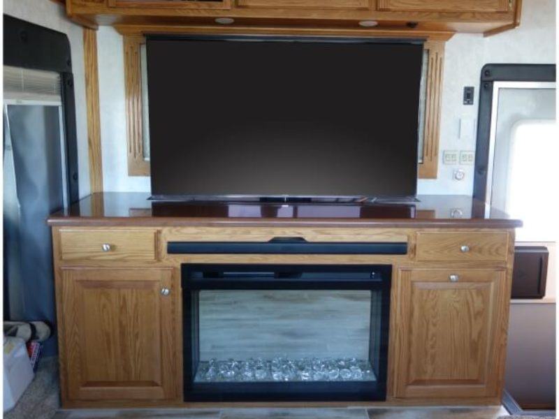 The Televator Tv Cabinet Rv Wood Design