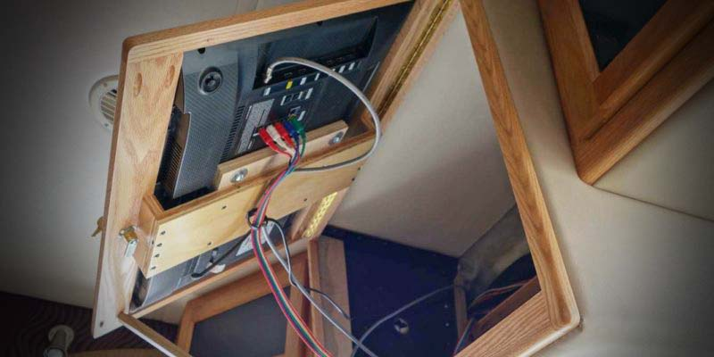 TV Remodels for Any RV Space - RV Wood Design