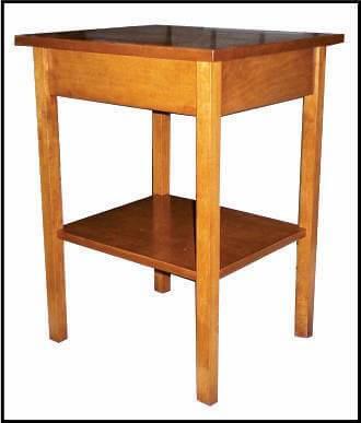 Custom RV side table