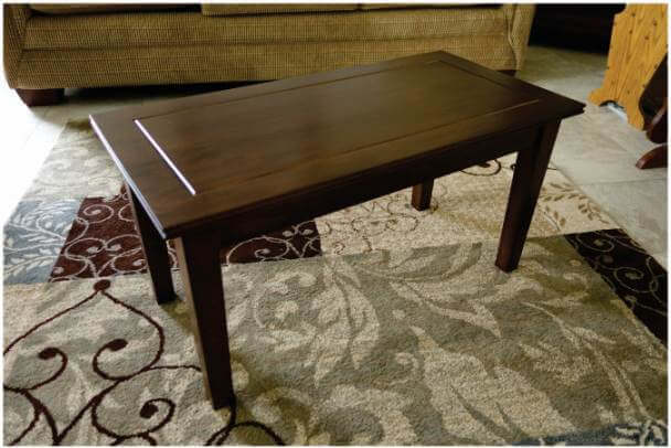 Small RV cherry coffee table