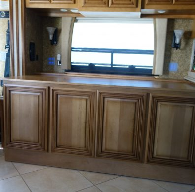Custom cabinetry to match existing cabinetry