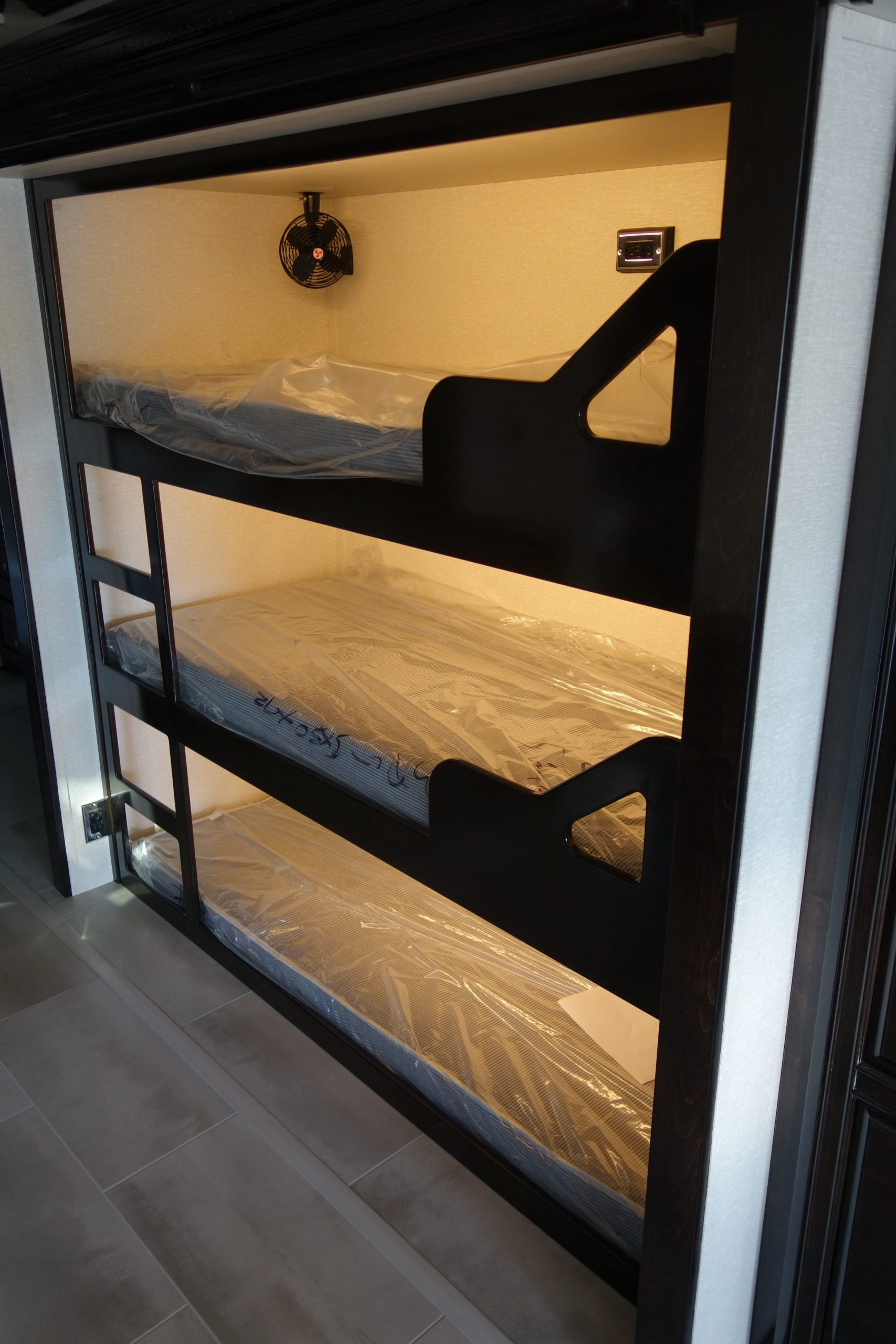 Custom RV Bunk Beds