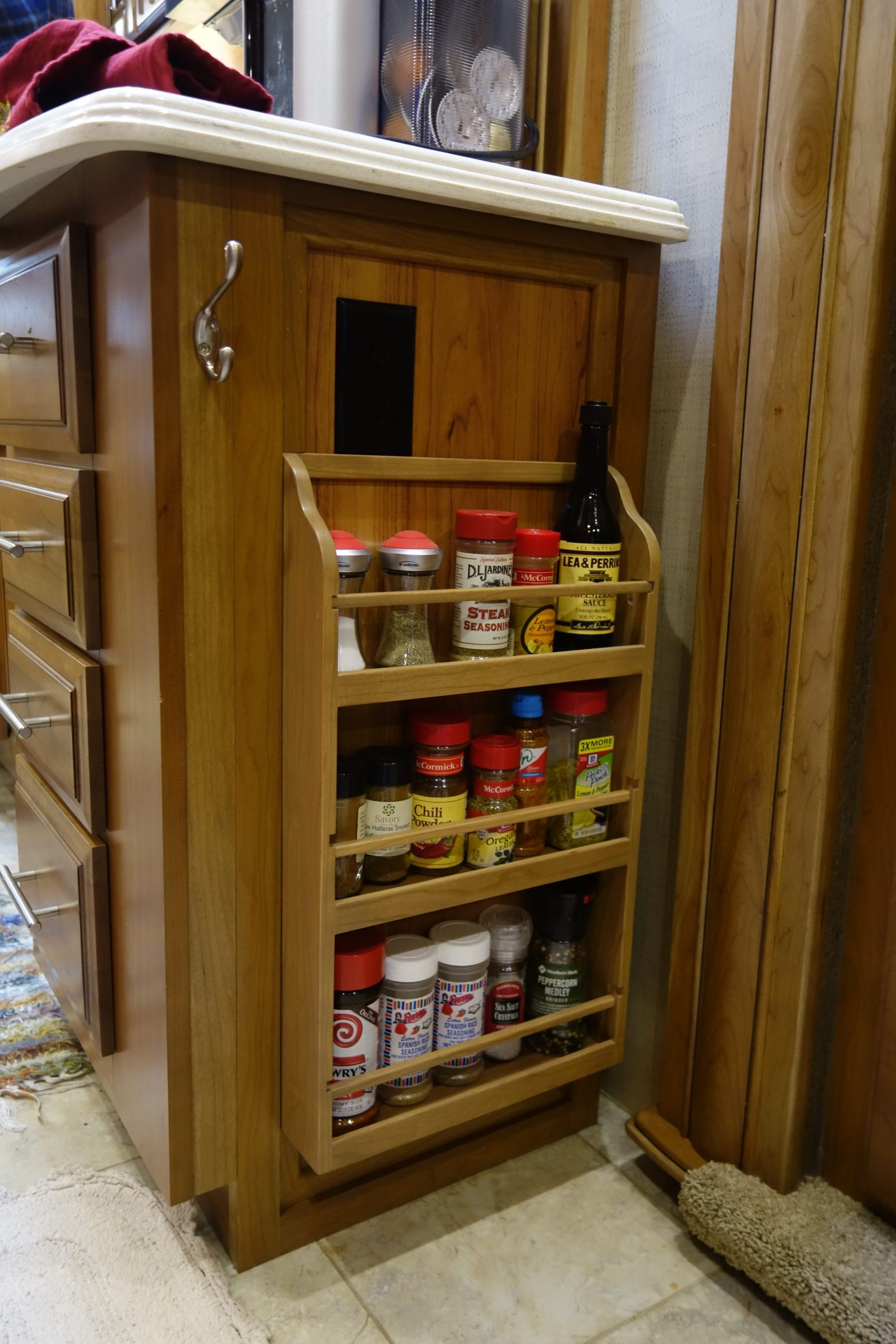 Custom Spice Rack